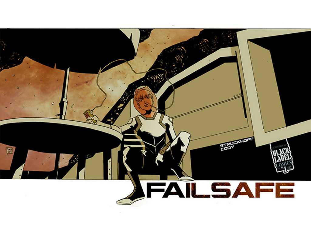 FAILSAFE one-shot from Black Label Comics's video poster