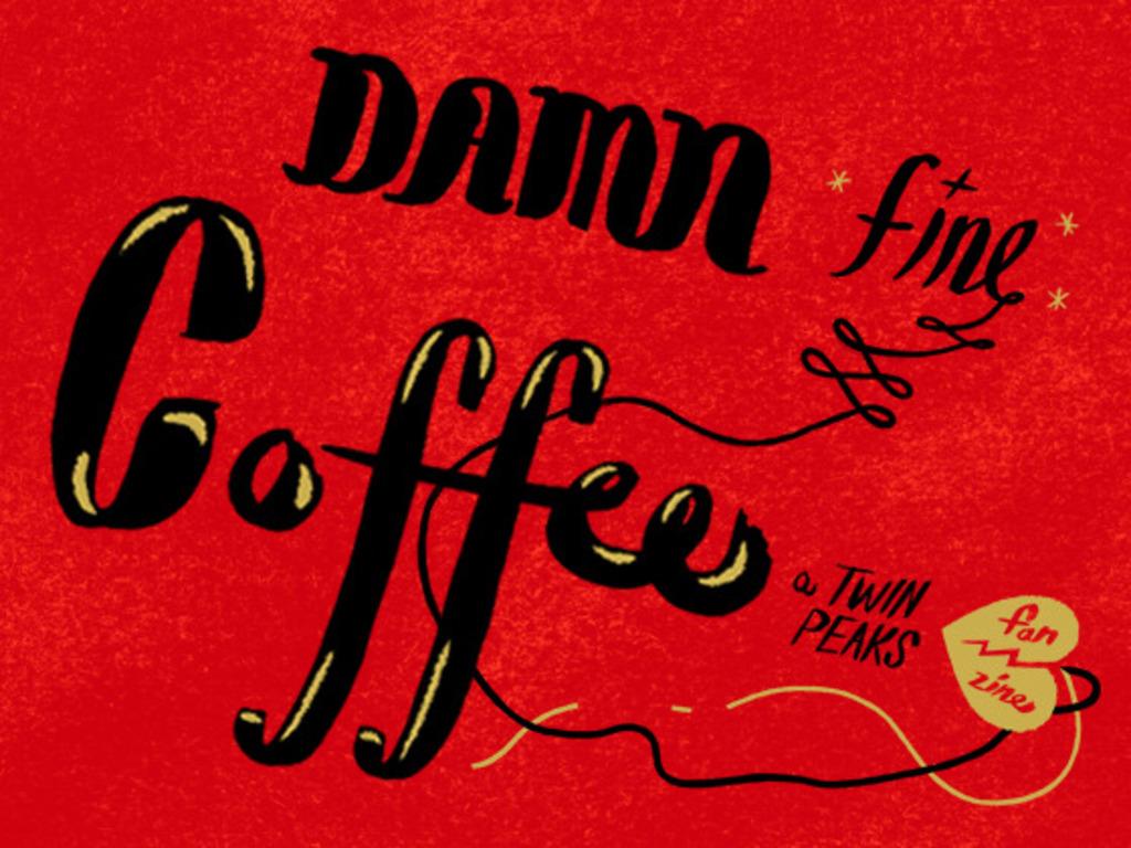 Damn Fine Coffee! A Twin Peaks Fan Zine's video poster