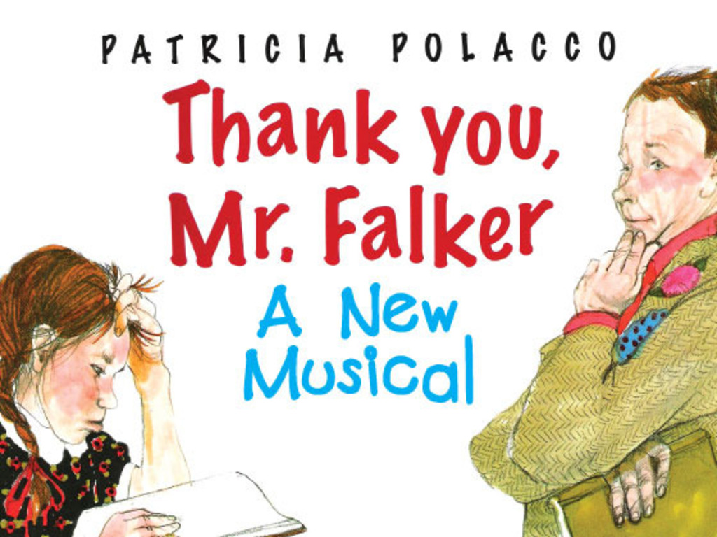 Thank You, Mr. Falker, A New Musical's video poster