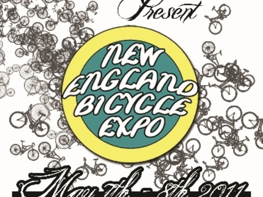 The New England Bicycle Expo 's video poster