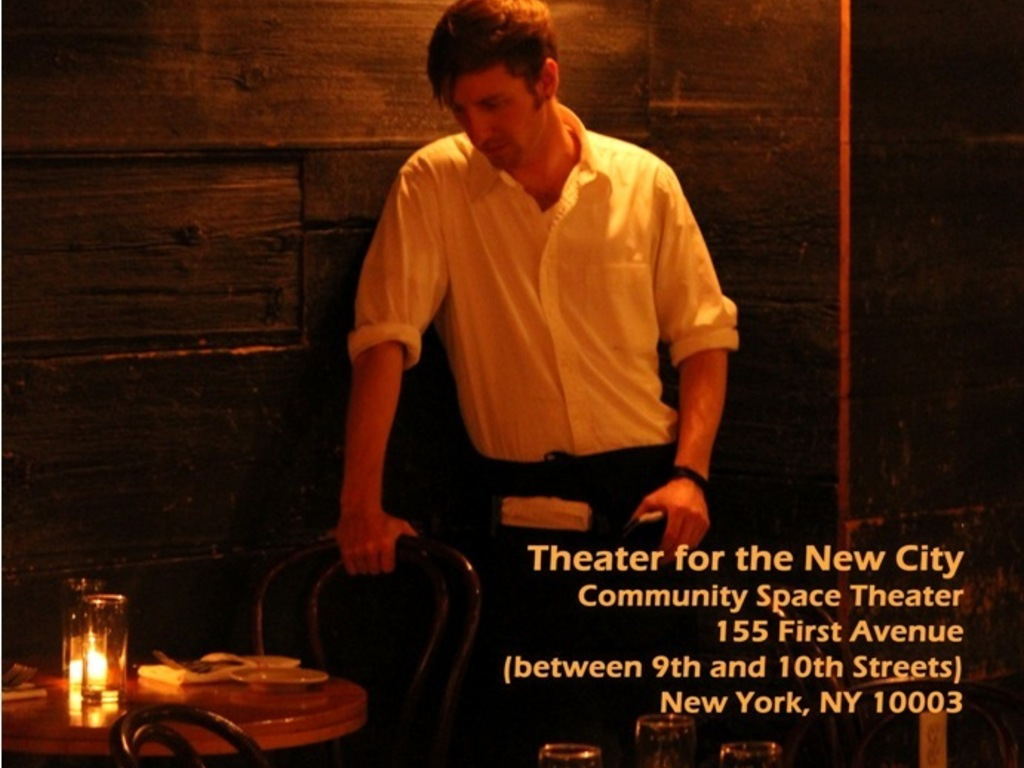 "Stage Production of ""The Waiter Project"" @ TNC, NYC's video poster"