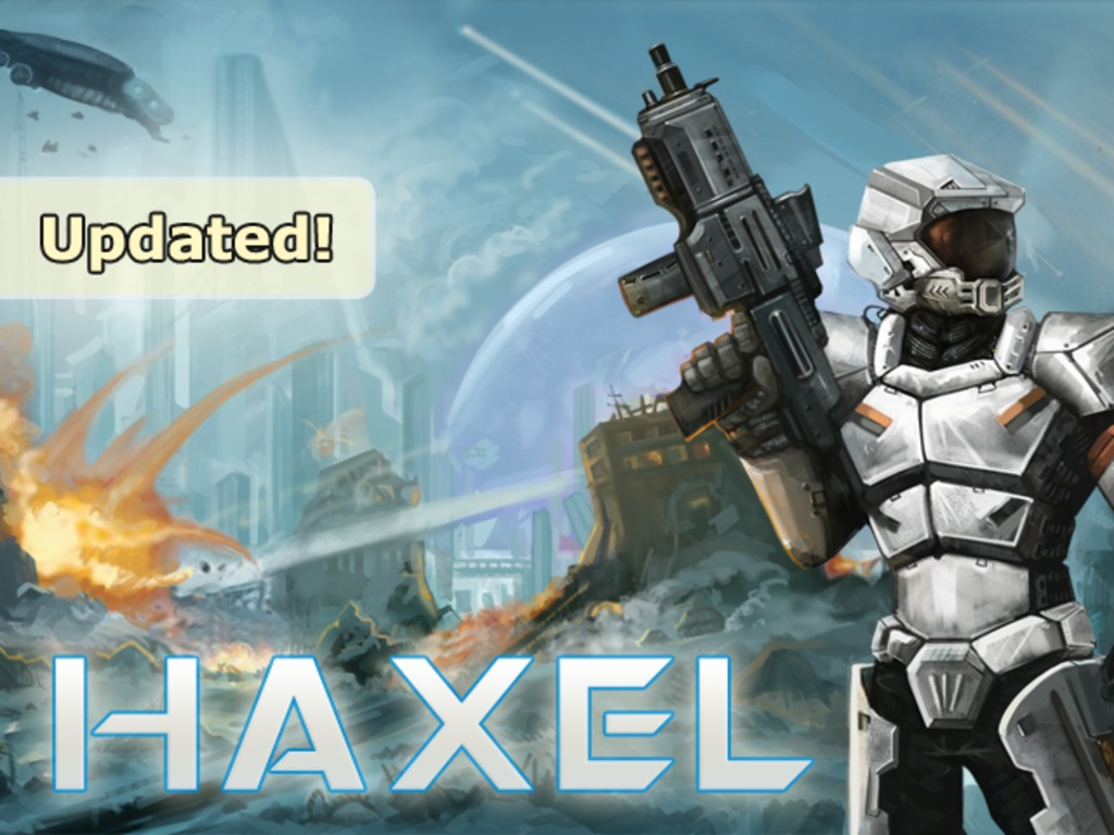Haxel's video poster
