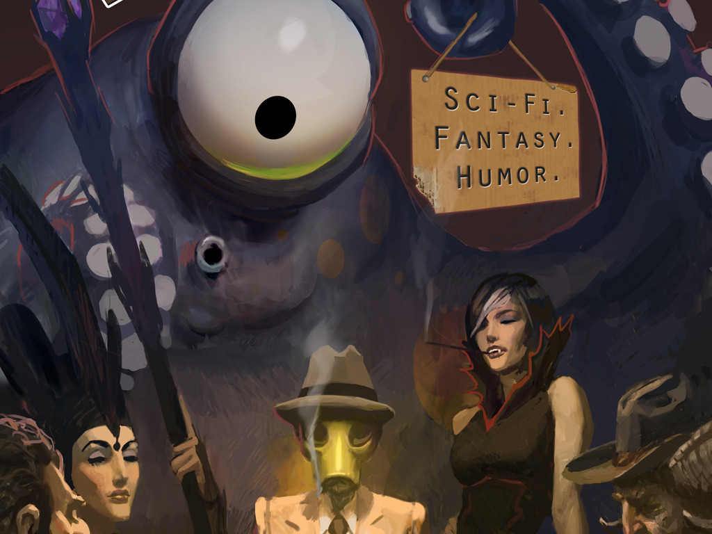 Unidentified Funny Objects - Anthology of Humor SF & Fantasy's video poster