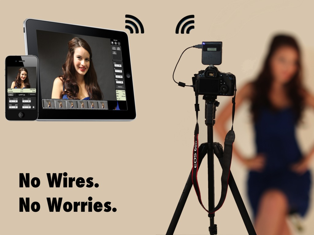CameraMator: Wireless Tethered Photography's video poster