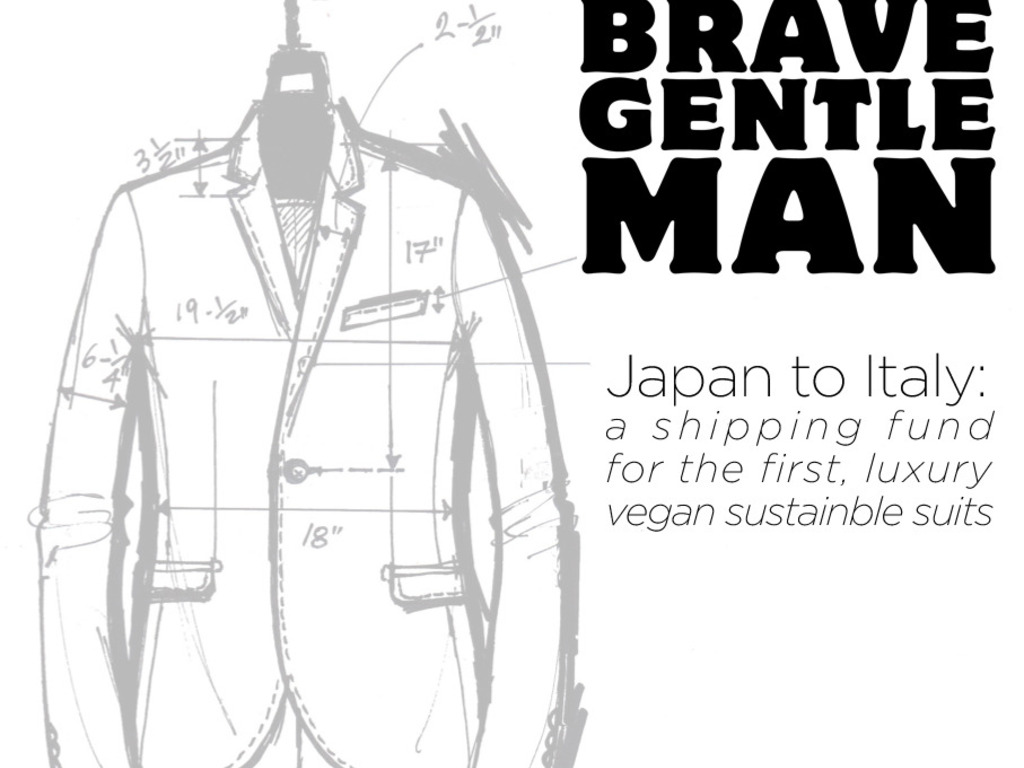 Brave GentleMan Suits: Textile Shipping Fund, Japan to Italy's video poster