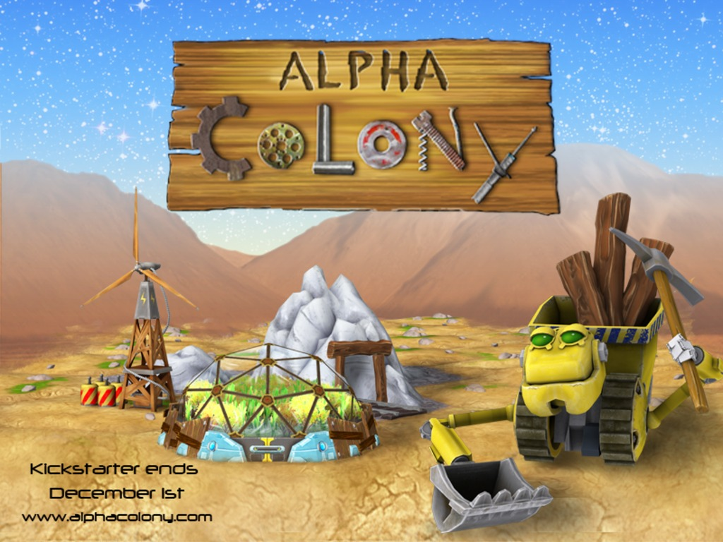 Alpha Colony: An Exploration, Building and Trading Game's video poster
