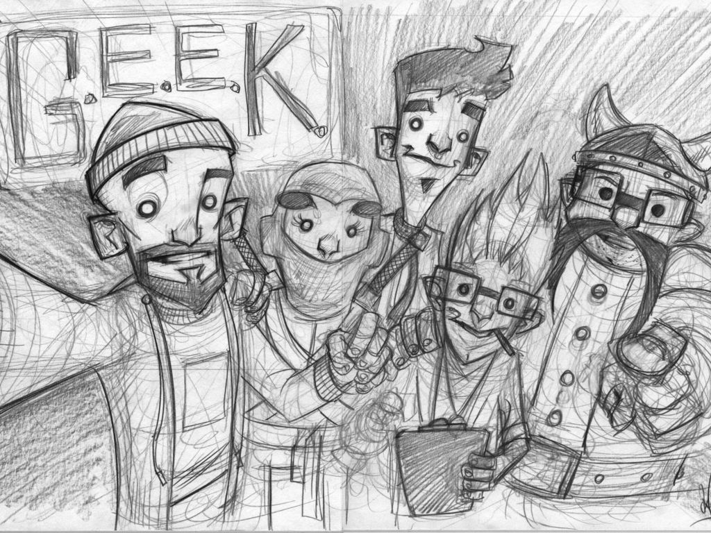 G.E.E.K's video poster