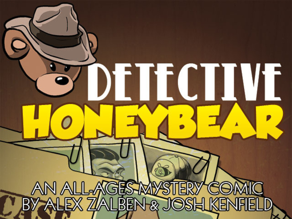 DETECTIVE HONEYBEAR: An All-Ages Mystery Comic!'s video poster