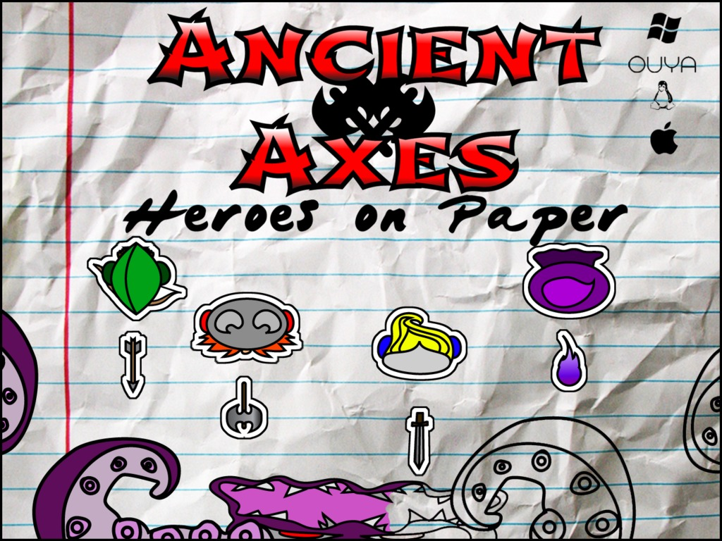 Ancient Axes: Heroes on Paper (Canceled)'s video poster