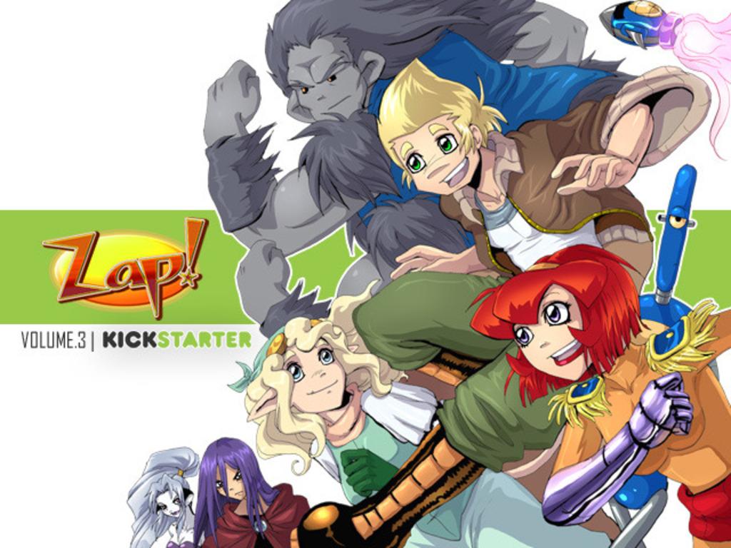 Zap! Volume #3 Print-stravaganza!'s video poster