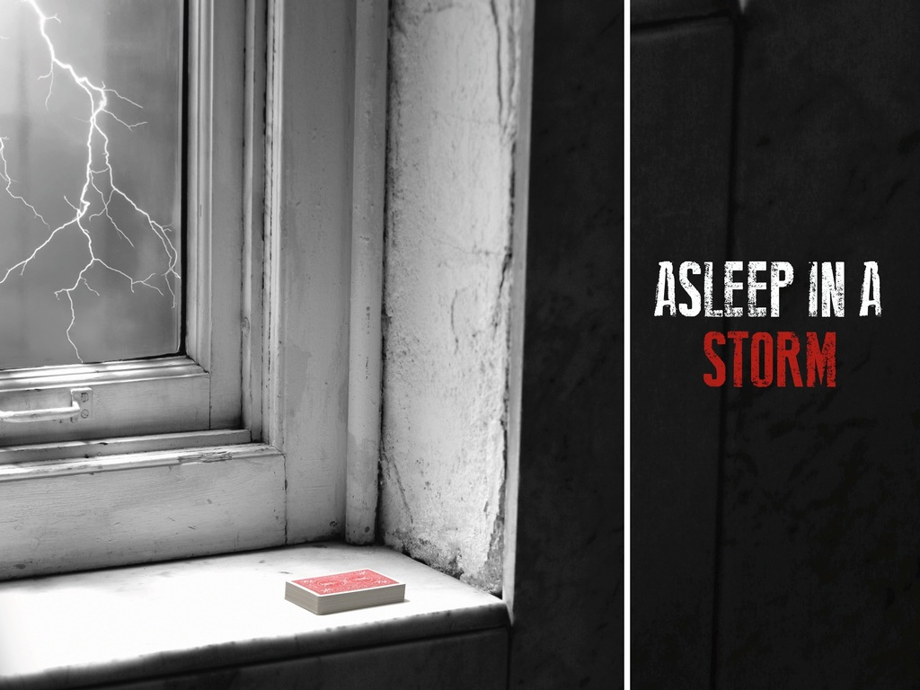 Asleep in a Storm's video poster