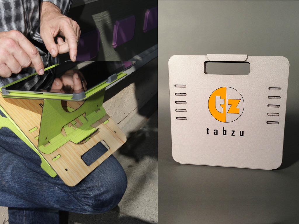 Tabzu: The iPad cradle is in it's LAST HOUR!  Come visit!!'s video poster