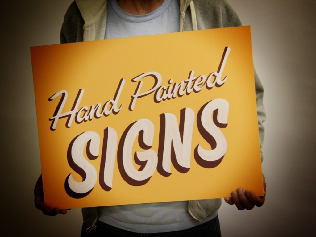 Sign Painter Design Project - The Art of Hand Painted Signs's video poster
