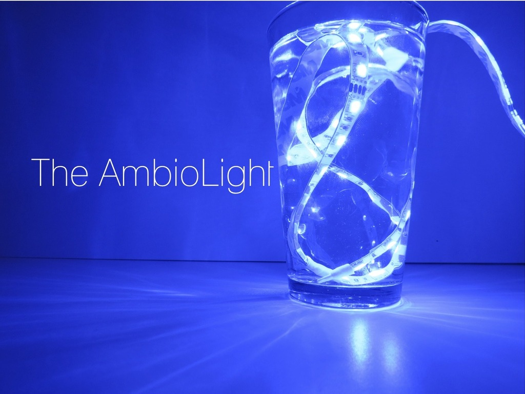 AmbioLight: Atmosphere changing LED lighting (Suspended)'s video poster