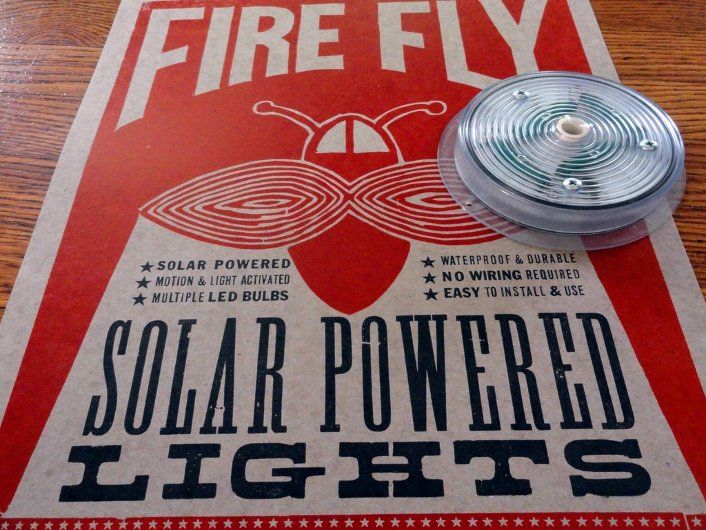 Firefly Solar Lights - We're Illuminating the Porta Potty's video poster
