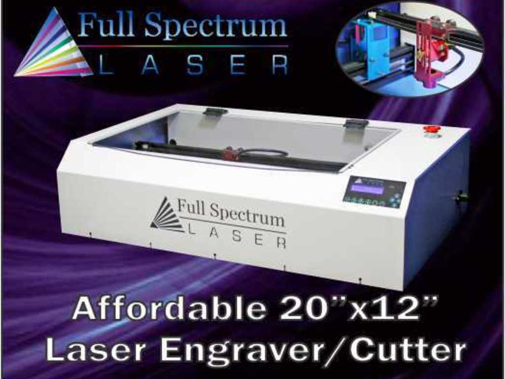 """Affordable 20""""x12"""" LASER Cutter / Engraver, Assembled in USA's video poster"""