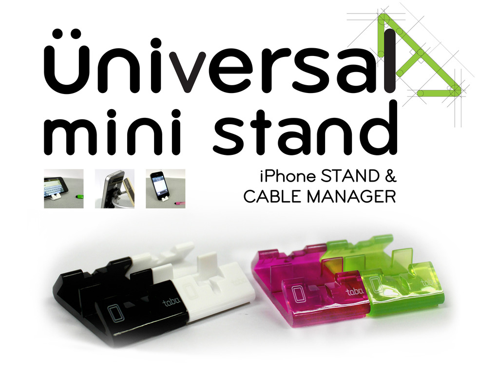 Universal Mini Stand: Your Unusual iPhone Stand.'s video poster