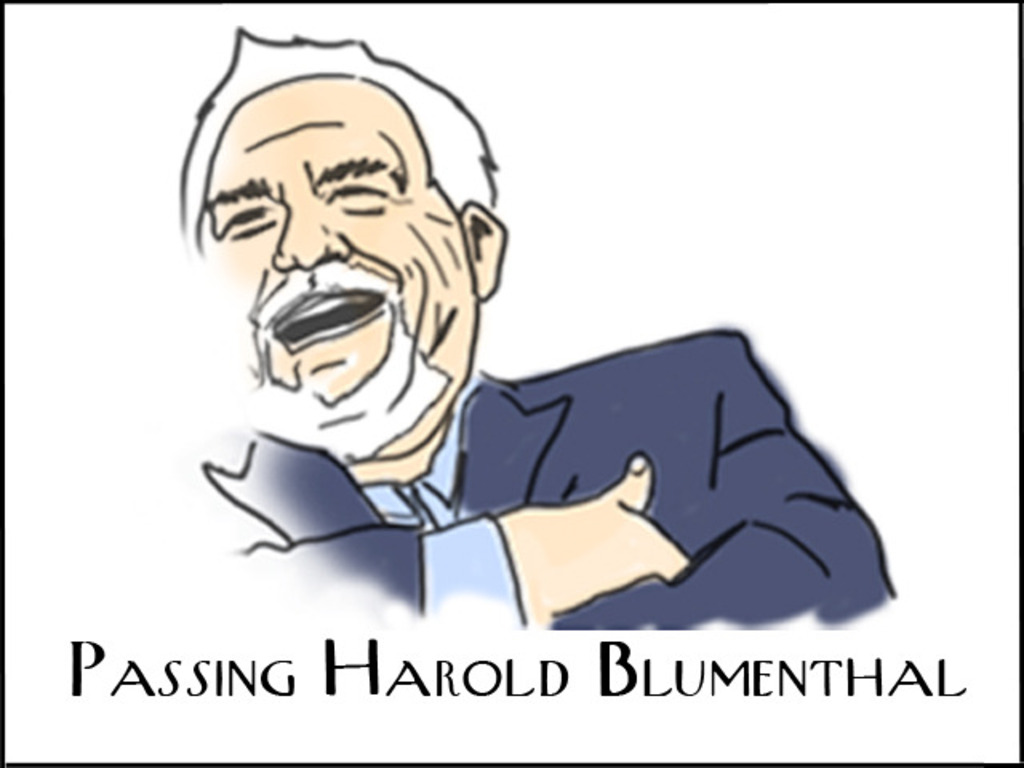 Passing Harold Blumenthal - Feature Film's video poster