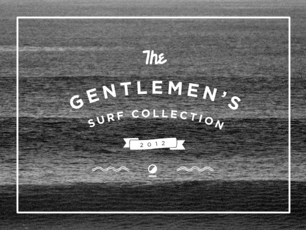 A Gentleman's Surf Collection by Wellen's video poster