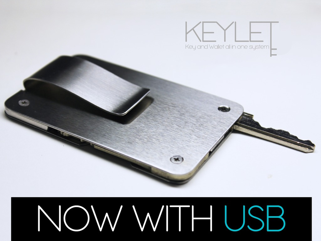 Keylet : A Minimal Key and Wallet All In One System's video poster
