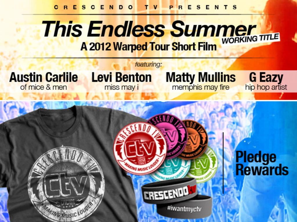 CrescendoTV's Warped Tour Short Film's video poster