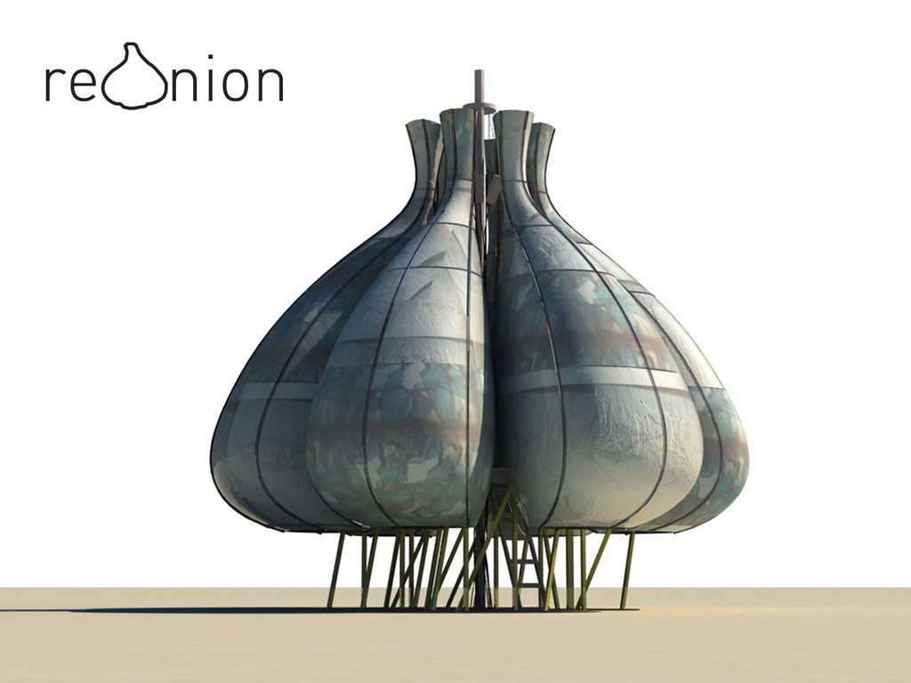 reOnion - Burning Man 2011 Art Installation's video poster