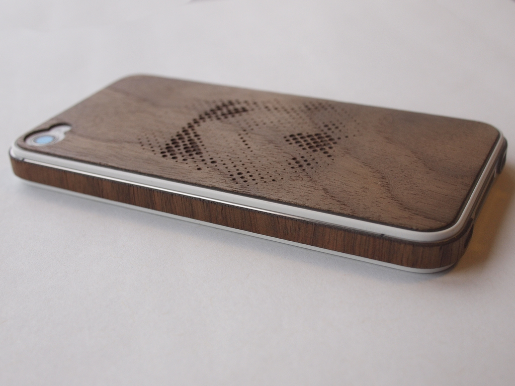 "Custom Real Wood Skins for the ""iPhone 5""'s video poster"