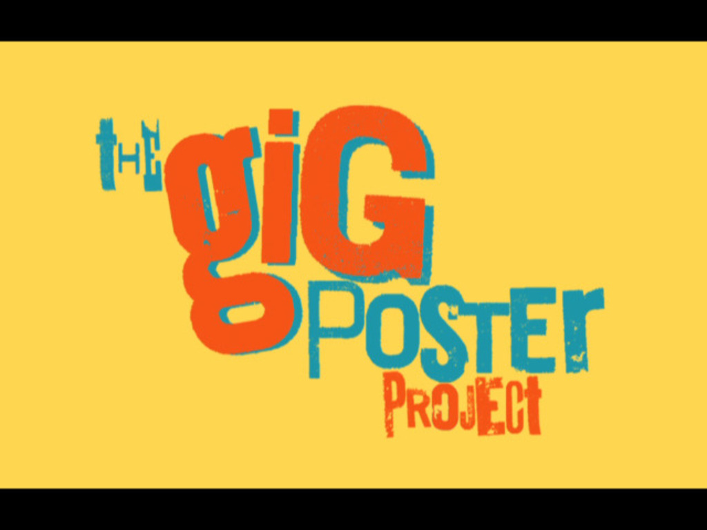 The Gig Poster Project's video poster