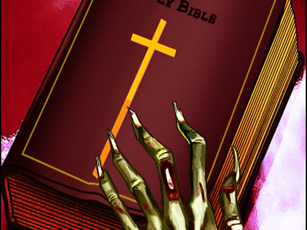 The Holy Bible... Zombie Edition's video poster