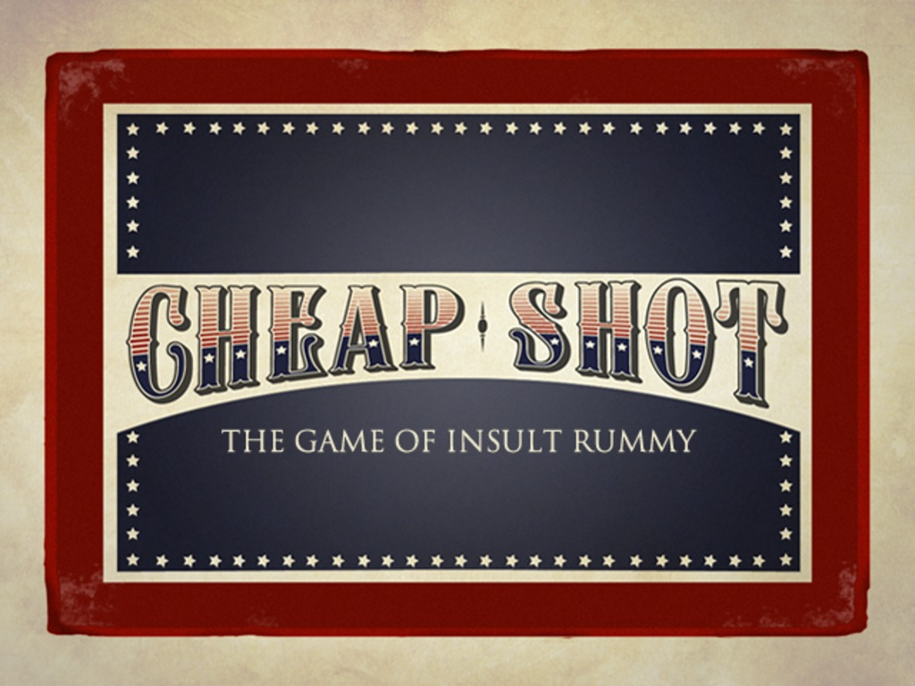 Cheap Shot - The Game of Insult Rummy's video poster