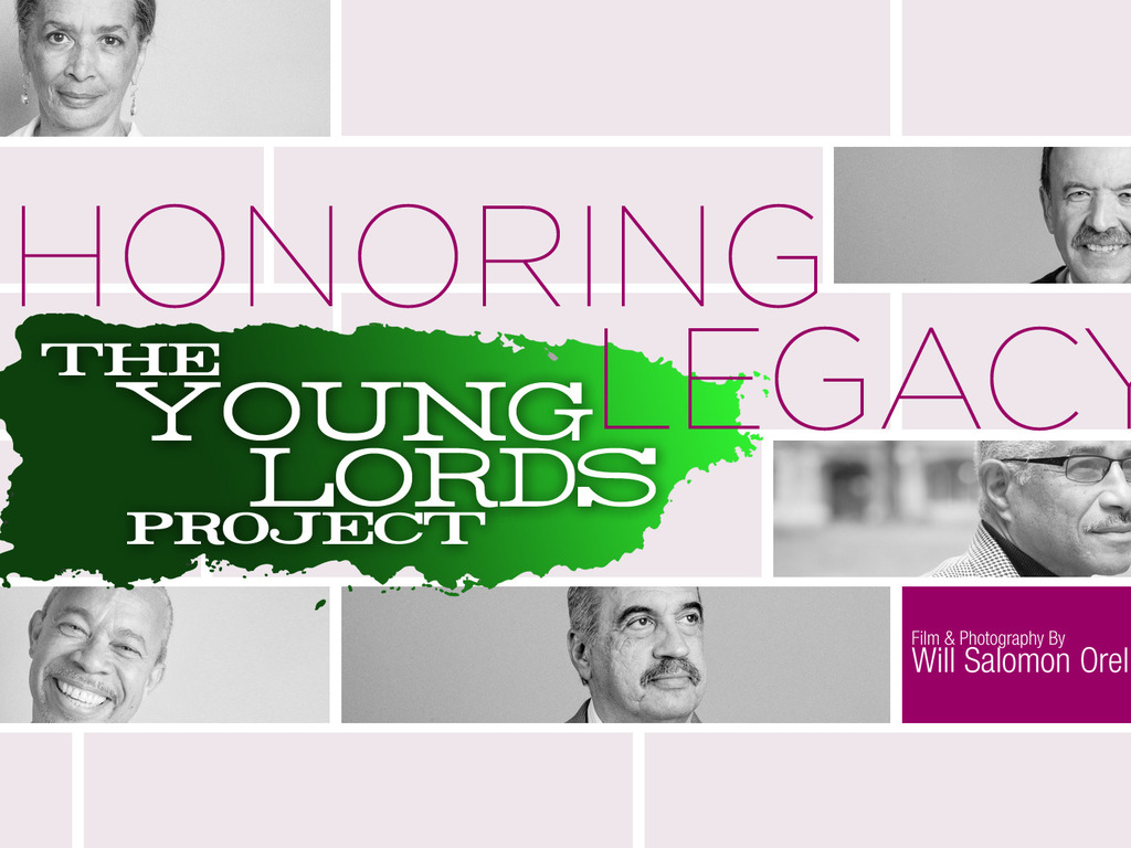 The Young Lords Project's video poster