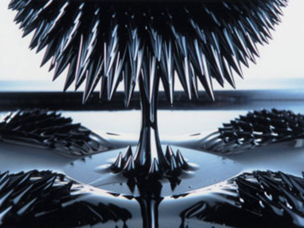 Ferrofluid Sculpture Project (Suspended)'s video poster