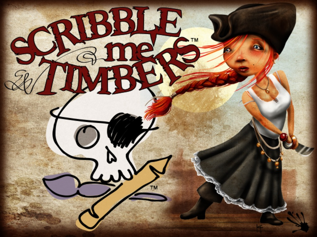 Scribble me' Timbers; Scribble, Draw, Bribe, Judge, Collect's video poster