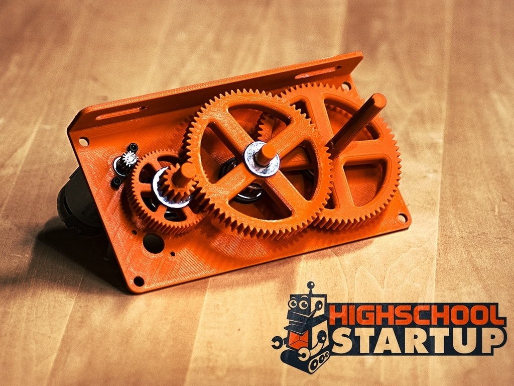 Switchbox: Flexible, rugged gearing for robotics's video poster