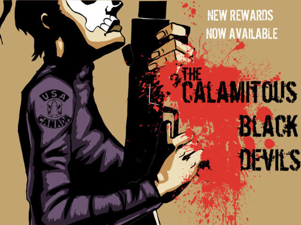 the Calamitous Black Devils: Issue #1 and 2's video poster