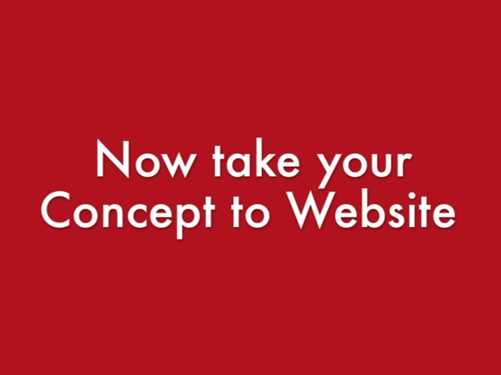 Concept to Website session - Learn coding on your own's video poster