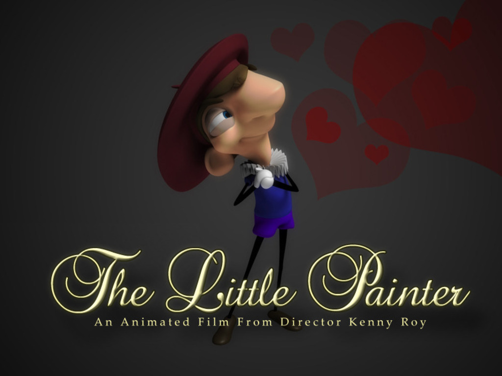 The Little Painter's video poster
