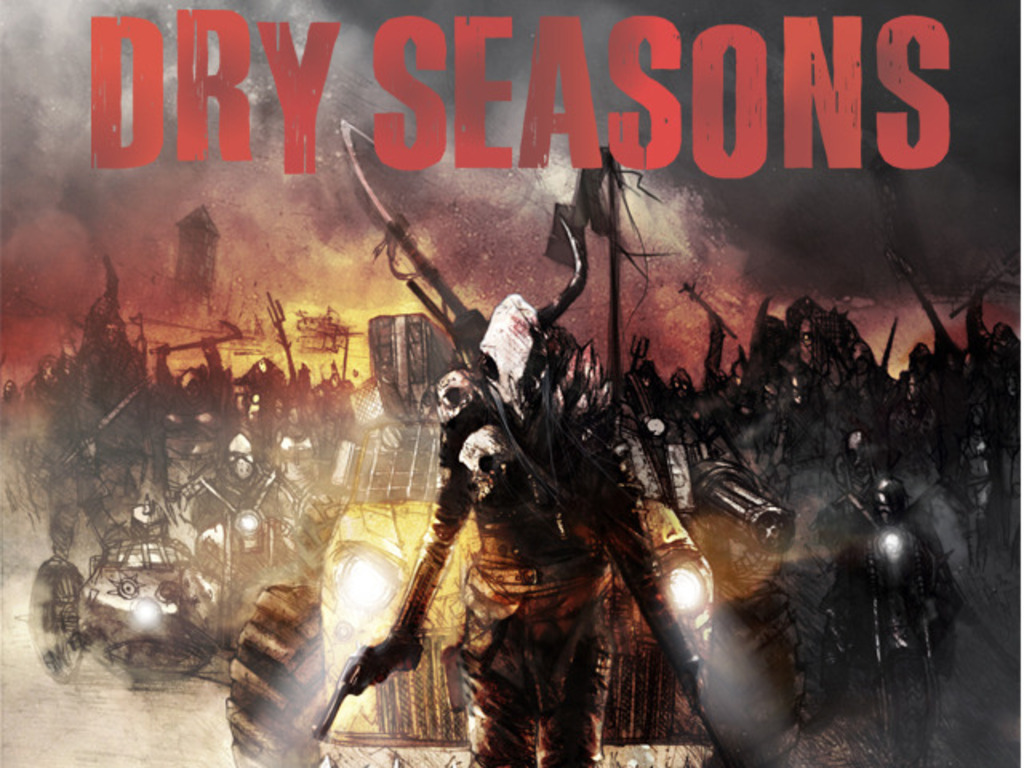 Dry Seasons: a comic book mini series's video poster
