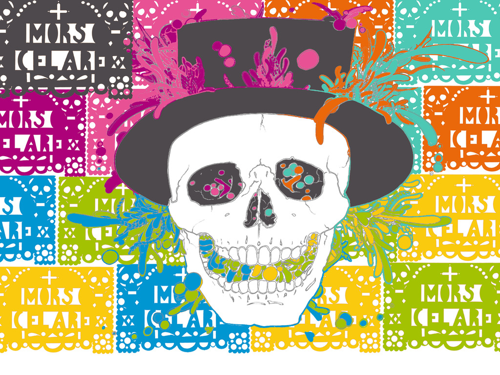 DAY OF THE DEAD + PERFORMANCE + MEXICO & HAITI = MORS CELARE's video poster