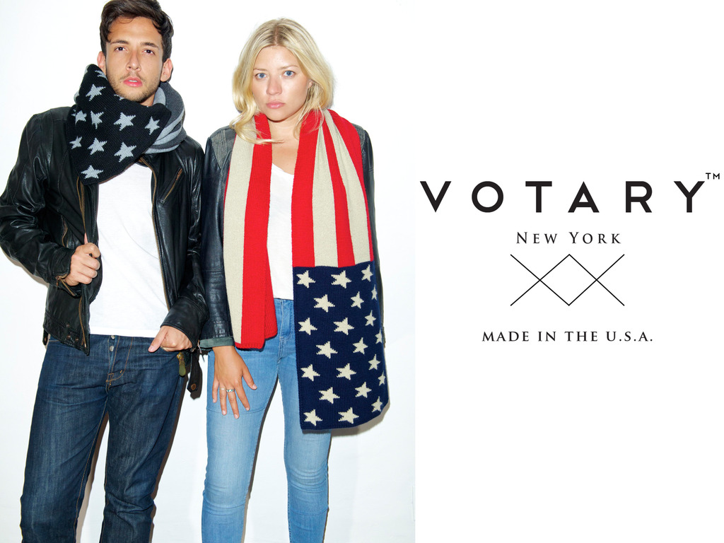 VOTARY - Knitted Scarf and Blanket Collection's video poster