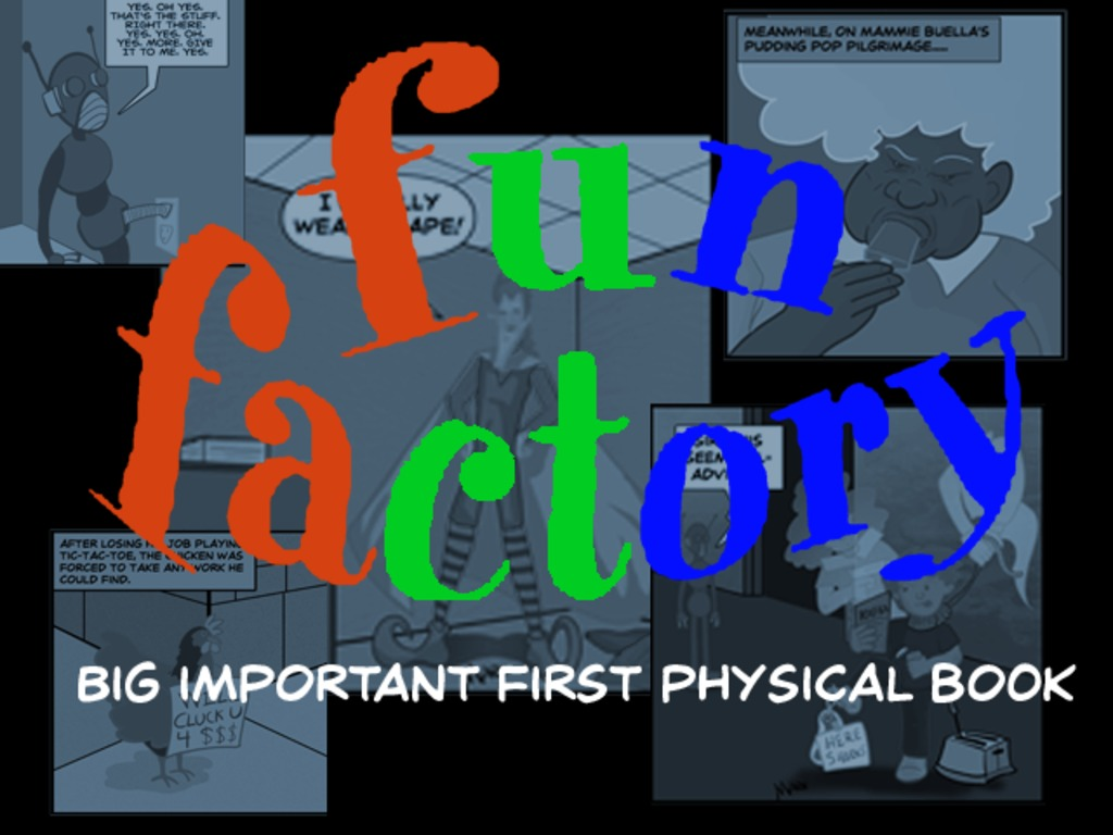 Fun Factory's Big Important First Physical Book's video poster