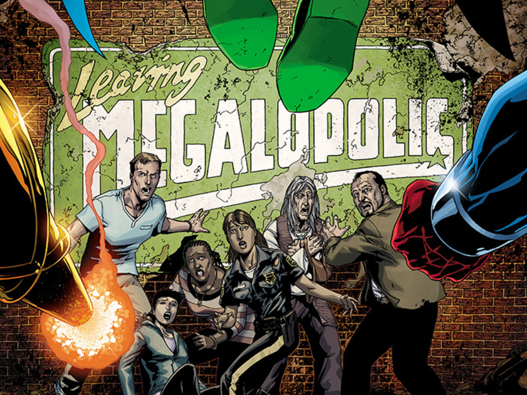 LEAVING MEGALOPOLIS's video poster