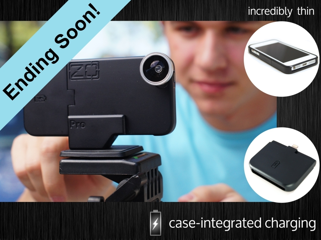 ZOpro:  Incredibly Thin Case-Integrated Charging.  iPhone 5's video poster