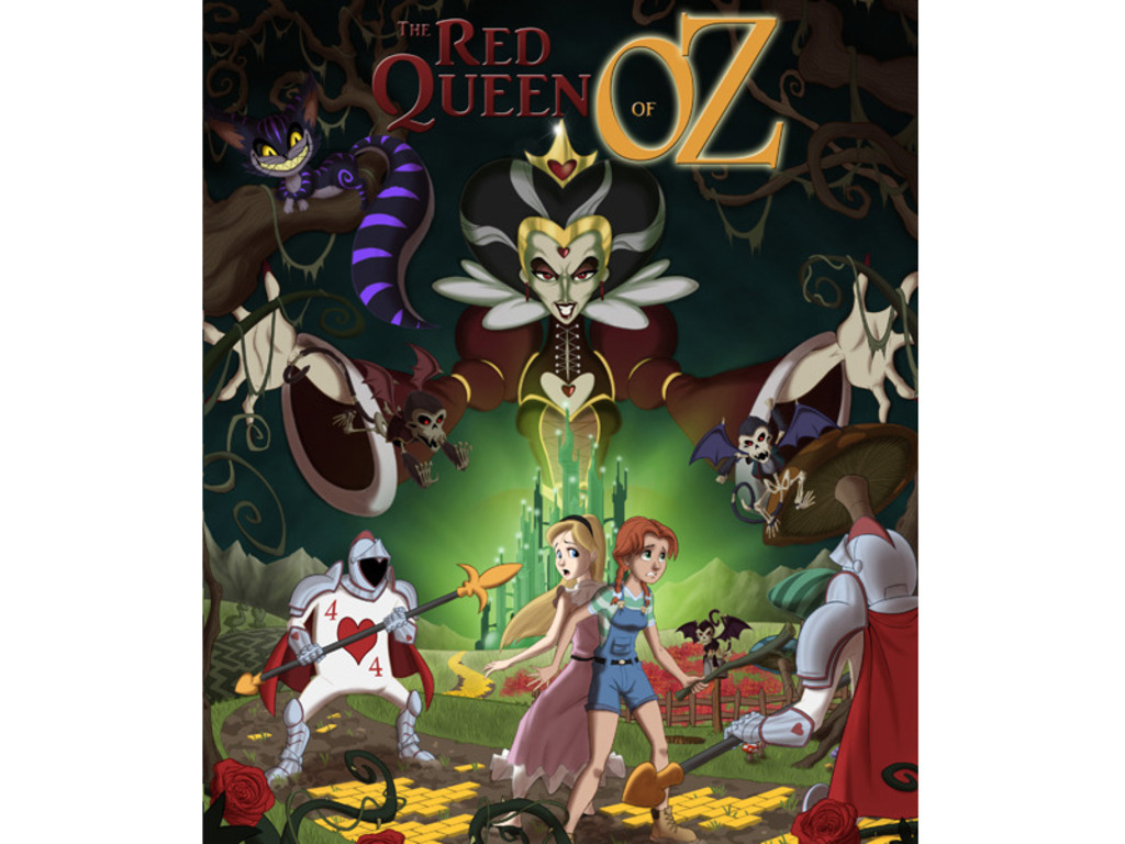The Red Queen of Oz - Graphic Novel Project (Issues 1 and 2)'s video poster