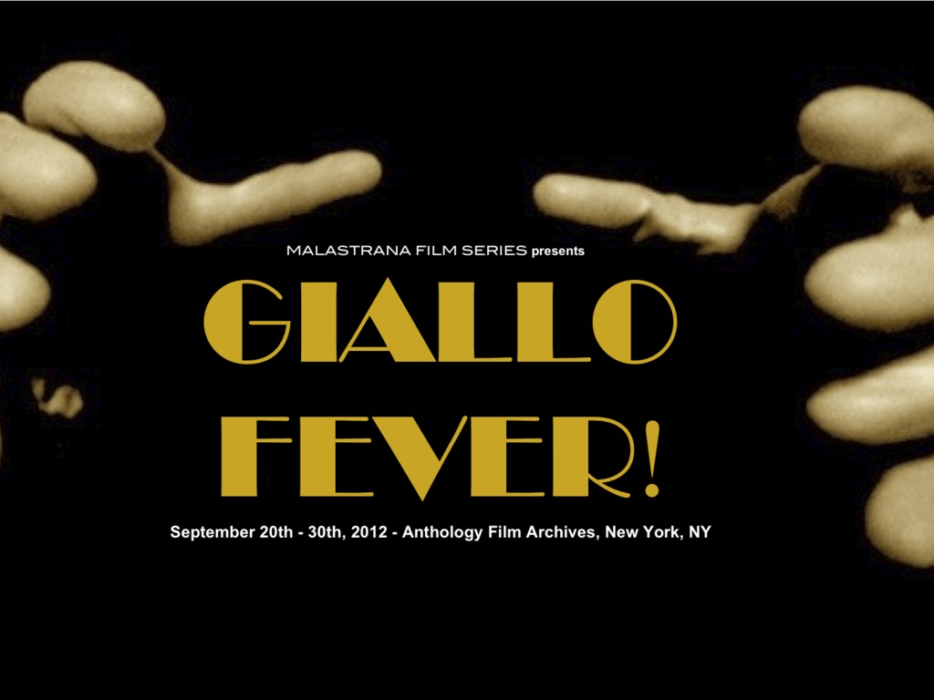 Giallo Fever!  A First-Ever NYC Showcase of Giallo Movies's video poster