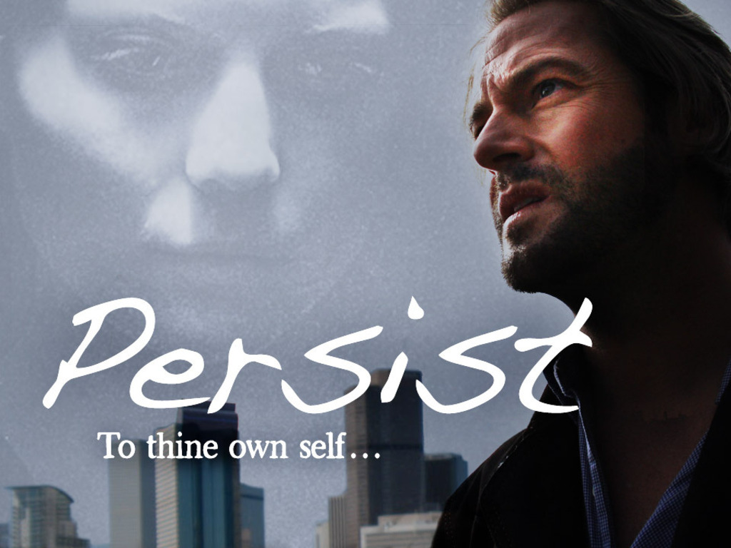 PERSIST, a film from a different perspective's video poster
