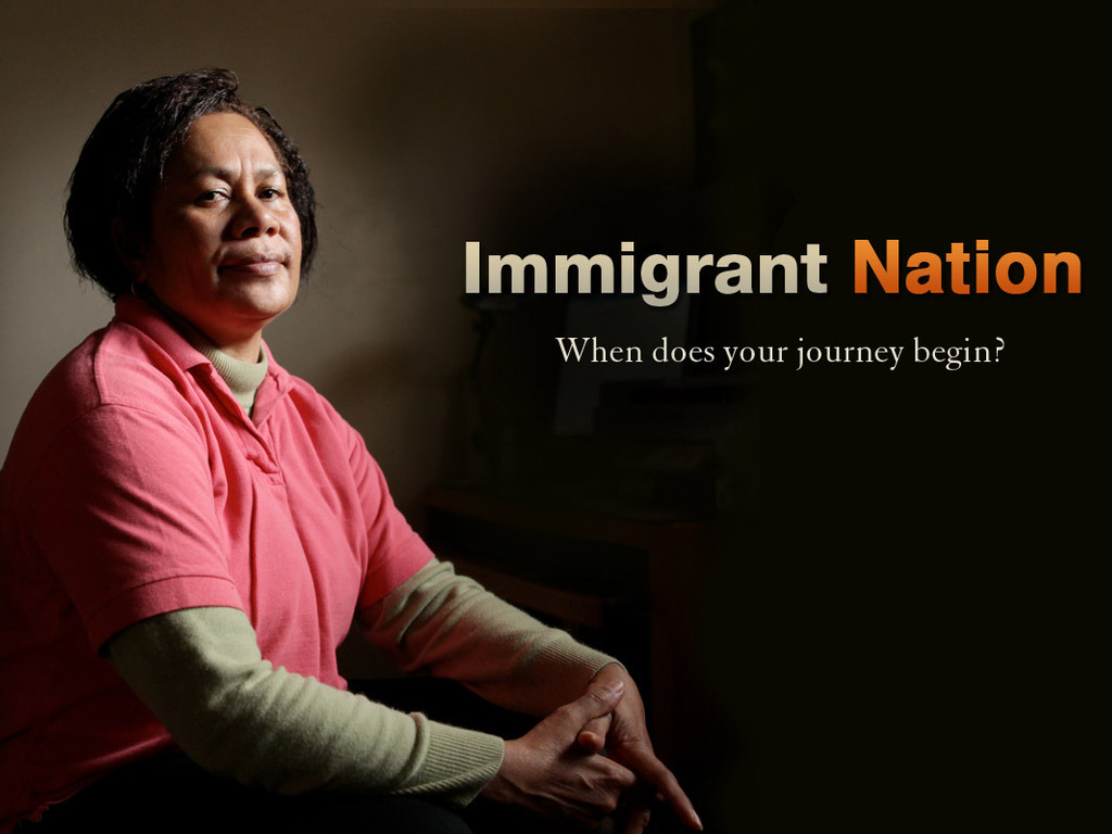 Immigrant Nation's video poster