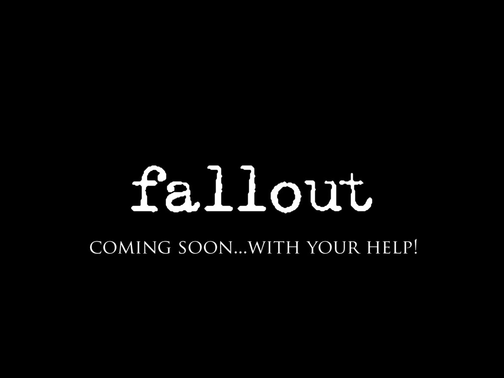 Funding Fallout!'s video poster