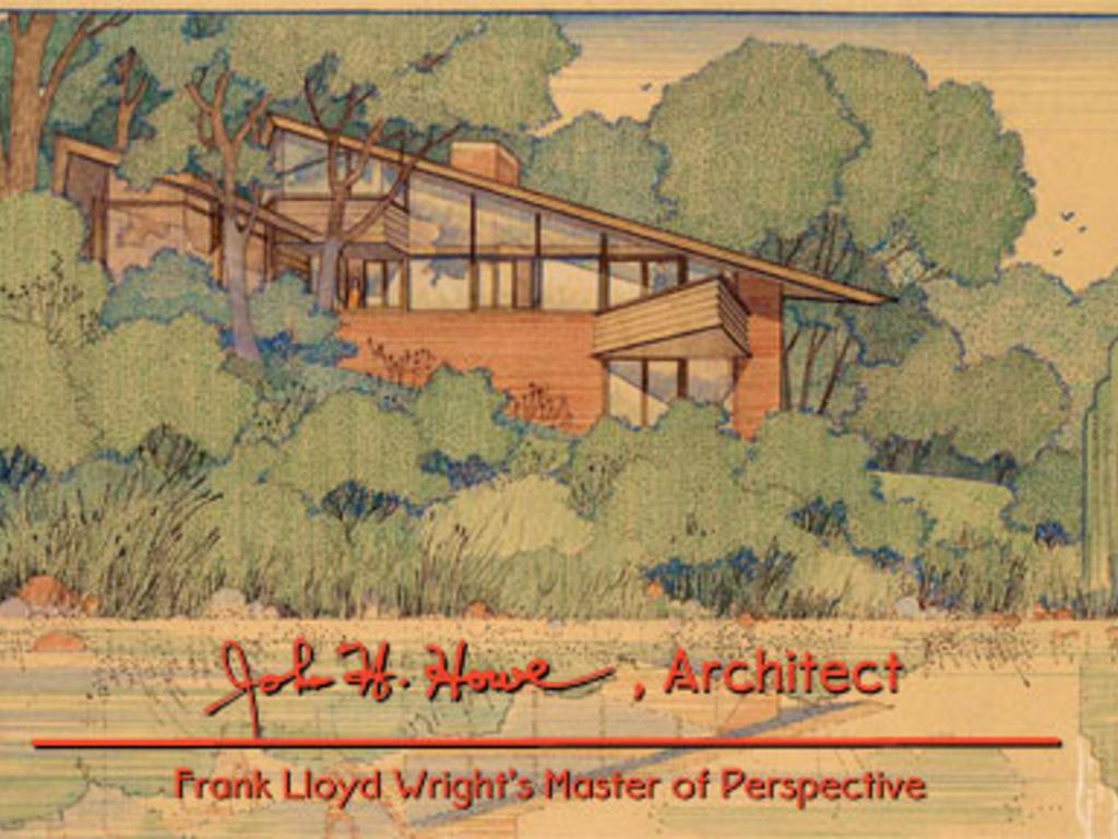 John Howe - Frank Lloyd Wright's Chief Draftsman Documentary's video poster