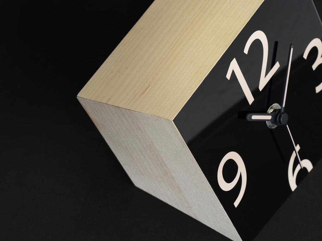 THE GRAVITY CLOCK:  A modern take on the analog clock's video poster